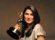 Sharmeen Obaid Chinoy with emmy Feb 2012