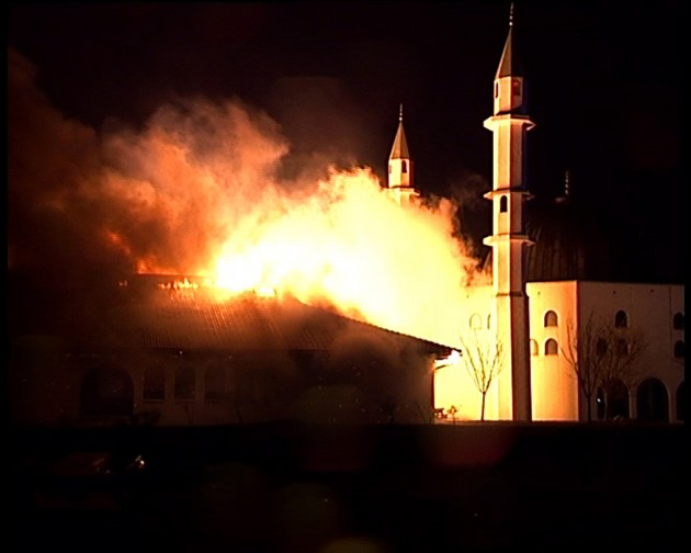 BurningMosque